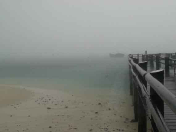 Stormy Heron Island