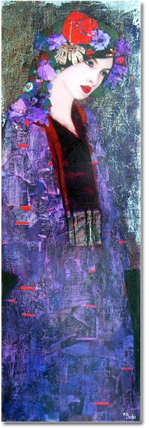 Changing my mind! (mixed media by Richard Burlet)