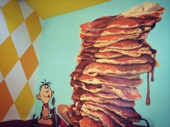 Sugar-N-Spice-Pancake-Painting