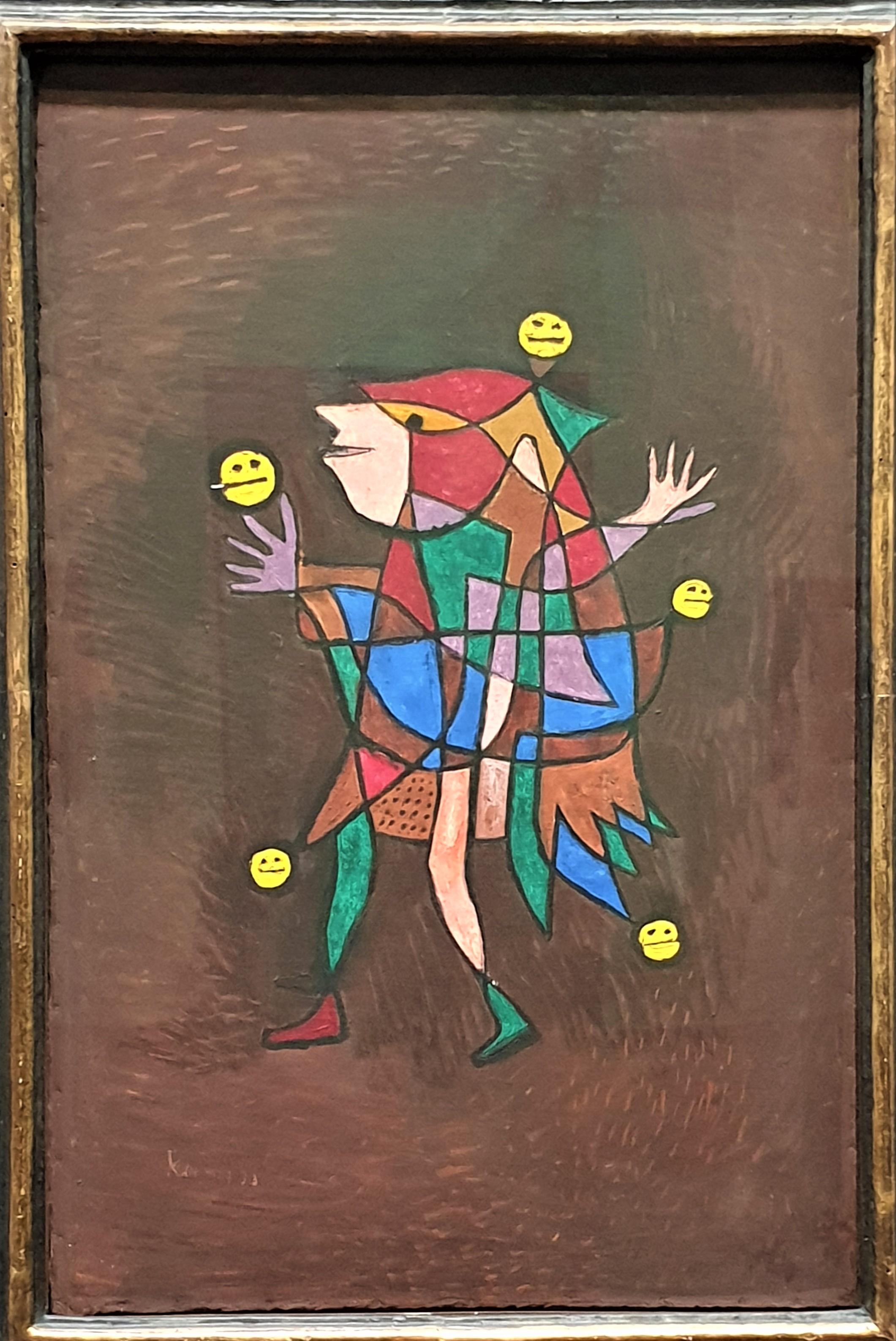 Three gentle words of a fool, Paul Klee, 1925